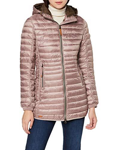 camel active Womenswear Damen 2X44 Jacke, Rosa (Rosewood 17), (Herstellergröße:36)