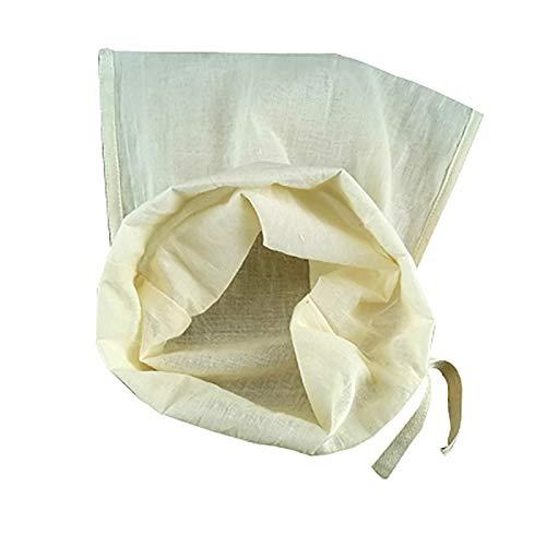 Stoff Ungebleichte Baumwoll-Musselin-Tücher Zum Sieben Geeignet Superfeiner Sojamilchfilter-Stoffbeutel Reine Baumwoll-Stoffbeutel Essbares Sandtuch (30X45 Cm)