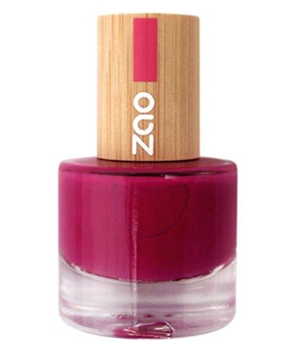 Zao - Bambus Nagellack - Nr. 663/Raspberry - 8 ml