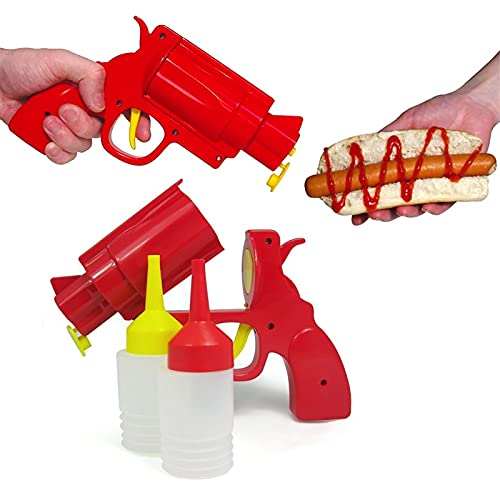 Keuken Restaurant Kruiderij Dispenser Fles, Ketchup Mosterd Kruiderij Gun, Indoor Outdoor Bbq Outdoor