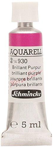 Schmincke Horadam - Acuarela de Color 930 púrpura Brillante, en Tubo de 5ml