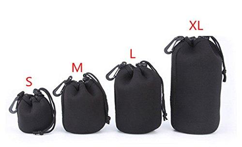 Glasskåp XL väska objektivväska glaskoppar neopren storlek XL