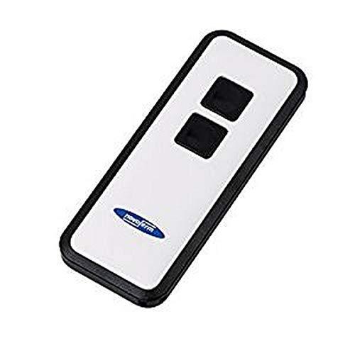 Garagentor Fernbedienung Mini-Novotron 522 (2 Kanal Sender; KeeLoq-Wechselcode; 433 MHz; Schwarz/ Weiß) TM15910001150