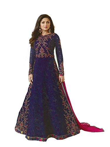 Indian Pakistani Party Wear Wedding Wear Anarkali Gown Suit for Women...