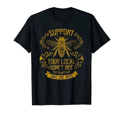 Honey Bee Bee Keeper Design T-Shirt