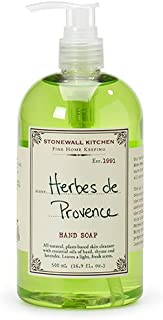 Stonewall Kitchen Herbes De Provence Hand Soap, 16.9 Ounce
