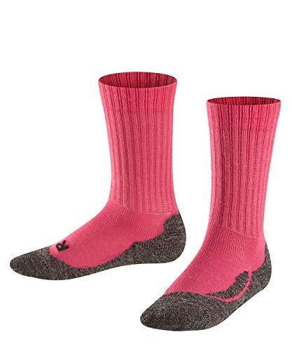 Falke Unisex Kinder Socken, Active Warm K SO -10450, Rosa (Gloss 8550), 31-34