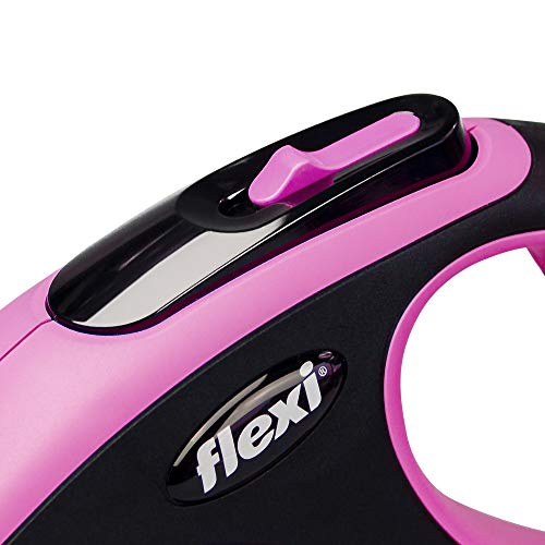 FLEXI Correa New Comfort, Rosa, L: Amazon.es: Productos para mascotas