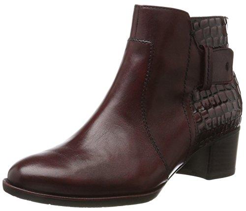 Tamaris Damen 25333 Stiefel, Rot (Bordeaux/STR), 39 EU