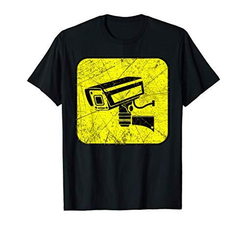 Caméra de surveillance CCTV Sécurité Invasion Cadeaux T-Shirt