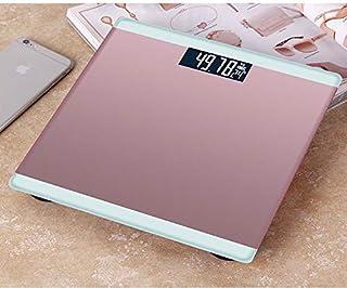 Báscula Electrónica Para Pesas Domésticas 280 * 280 * 24mm Oro rosa