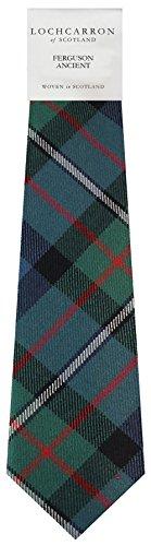 I Luv Ltd Gents Neck Tie Ferguson Ancient Tartan Lightweight Scottish Clan Tie