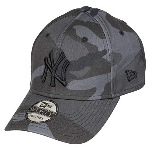 New Era New York Yankees 9forty Adjustable Cap League Essential Dark Camo - One-Size
