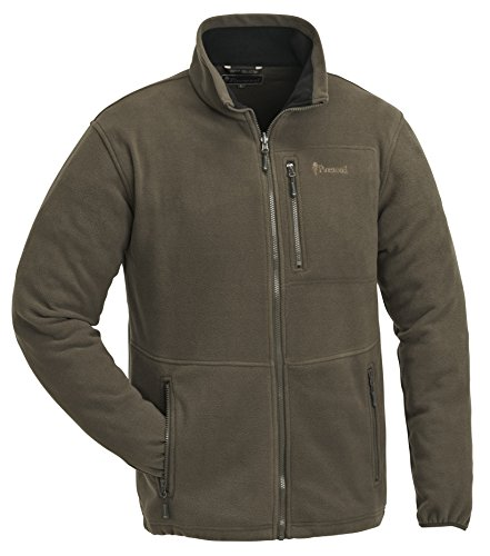 Pinewood Herren Finnveden Fleece Jacke, Braun, XL