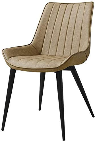 FHW Modern, Jahrgang Industrie-Leder, Home/Freizeit/Café/Büro (Farbe: Weiß, Größe: 53x61x82CM) FACAI (Color : Khaki, Size : 53x61x82CM)