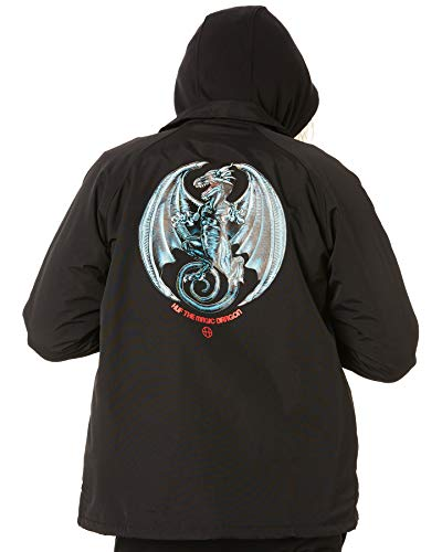 Huf Mens Magic Dragon Coach Jacket