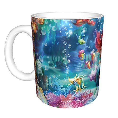 Taza de café con diseño de princesas Disney para mujer