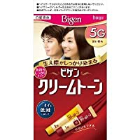 ビゲン クリームトーン 5G(深い栗色) ×3個