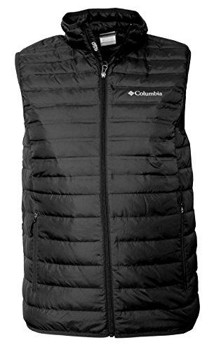 Columbia Men's MoKay Lake Lightweight Down Vest (S) Black