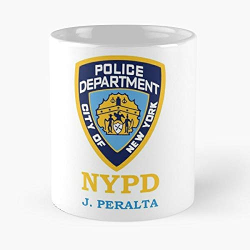 92Wear Peralta J Jake NYPD Police Brooklyn Nine - Best 11 oz Tasse à Café - Tasse De Motifs De Café Cadeau