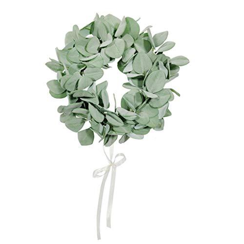 Artificial Leaves Garland Lamb Ear Simulation Flower Garland Cloth Fake Wedding Foliage, Large