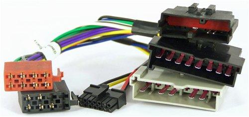 NIQ Lenkradfernbedienungsadapter geeignet für JVC Autoradios, kompatibel mit Ford Escort / Fiesta / Focus / Galaxy / Mondeo / Puma / Transit
