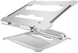REFURBISHHOUSE Soporte de Aluminio para Oficina Portátil Elevador Plegable Portátil Soporte para Computadora Portátil Radiador Soporte Adecuado para Uso de Computadora de 11 a 17 Pulgadas