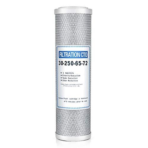 Qimao 3pcs Wasserfiltereinsatz PP Cotton Aktivkohlefilter Ersatz Liner Wasserfiltersystem Zubehör