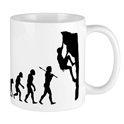 CafePress Rock Climbing Mug Unique Coffee Mug, Coffee Cup