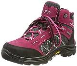 CMP Kids Shoe, Scarpe da Trekking Thiamat Mid 2.0 WP Unisex-Bambini, Sherry, 34 EU