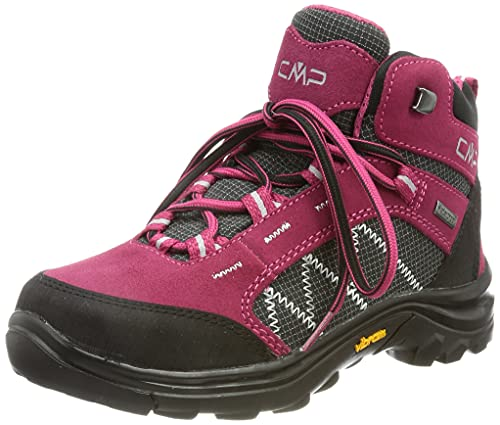 CMP unisex child 2.0 Kids Thiamat Mid 2 0 Trekking Shoe Wp, Sherry, 36 EU