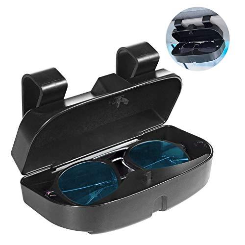Number-One Car Visor Sunglass Case Holder Clip, Eye Glasses Storage...