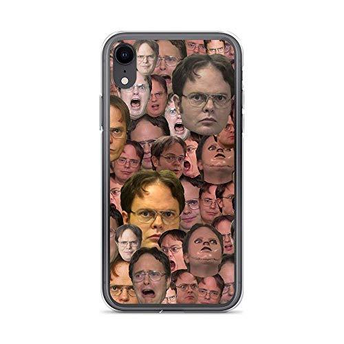 Funda Phone Case Compatible con iPhone 7 Plus/8 Plus Case The Office Dwight Schrute Meme Faces