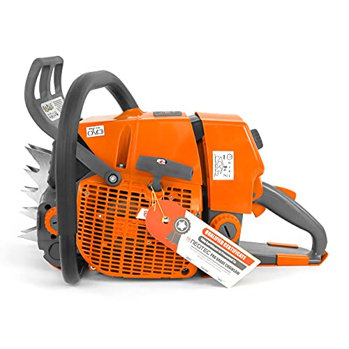 NEO-TEC Gas ChainSaw NS892 for G660 2-Cycle Power Head 92cc 25/30/36' Power Chain Saw 5.2KW 6.4HP Petrol Chainsaw for Big Wood Cutting All Parts Compatible to MS660 066 Magnum Chainsaw Without Bar