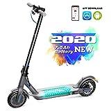 HITWAY Elektroroller,E-Scooter Faltbarer Roller mit APP & Bluetooth,8.5 Zoll Elektro Scooter,350W Motor City Roller, ultraleichtem Elektroroller für Erwachsene