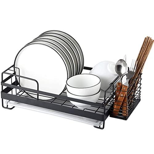 Estante de plato Estante de cocina Estante de almacenamiento de cocina Colocar plato Estante de drenaje Estante de especias de acero inoxidable Suministros de cocina Ayuda de cocina