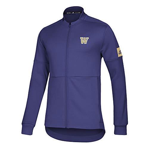 NCAA Washington Huskies Mens Locker Room Game Mode Bomber, Purple, Large