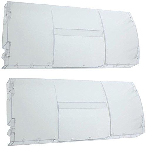 SPARES2GO Lade Cover Flap Basket Handvat Voor Belling Koelkast Vriezer (Pack van 2)