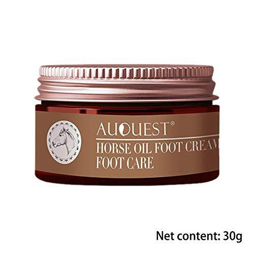 Minear Crema de pies Hidratante Tratamiento de reparación de ampollas Anti-agrietamiento Alisado Peeling Cuidado de pies