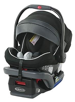 Graco SnugRide SnugLock 35 Platinum Infant Car Seat | Baby Car Seat, Spencer