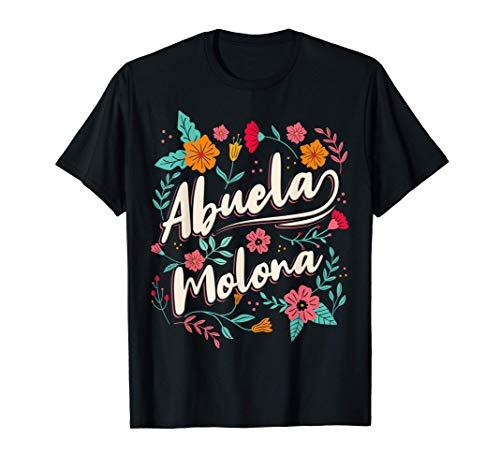 Abuela Molona Regalo Día del Abuelo Camiseta
