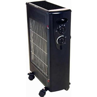 Optimus H5300b Black Heater Quartz And Convection Radiant