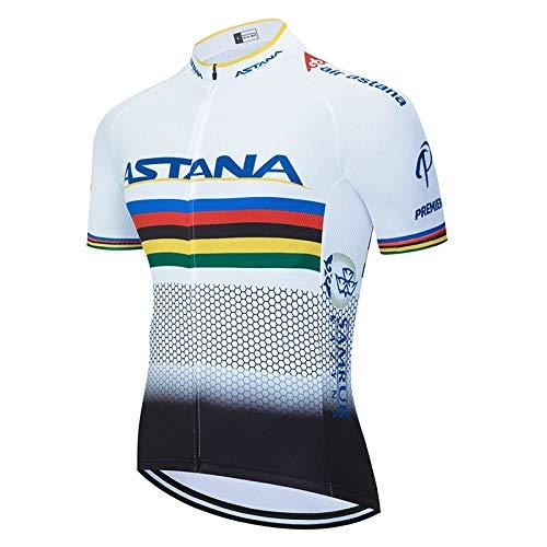 STEPANZU Maillot Ciclismo Hombre Corta Ropa Ciclismo