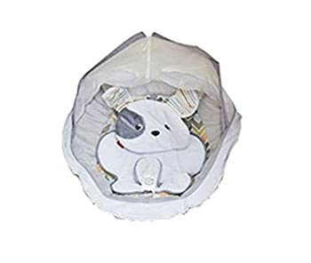 Replacement Seat Pad/Cushion/Cover with Headrest & Body Support for Fisher Price Snugapuppy Dreams Cradle  n Swing  Model DRG43
