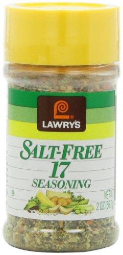 Lawrys Salt Free 17 Seasoning, 2 Ounce