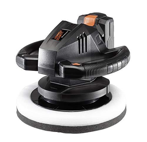 Hammerschmitt 20 V Akku-Poliermaschine zum Polieren von Autos KFZ Lack Akkupoliermaschine