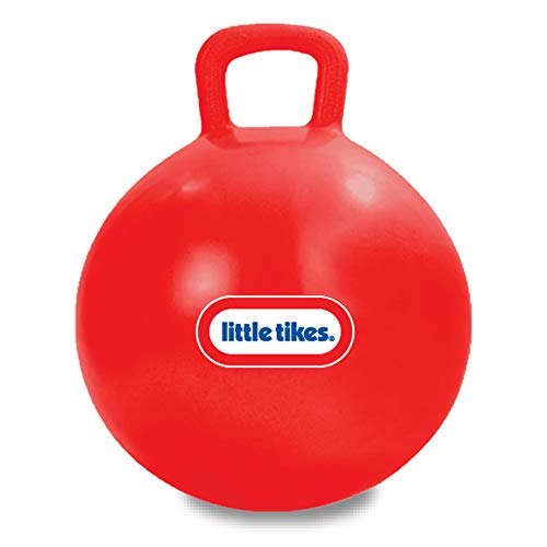 """Little Tikes Bouncing Fun! Red Hopper 9301A - Mega 18"""" Inflatable Heavy Gauge Durable Vinyl Ball - Deflates Easily for Storage - Exercise Learning Fun? YES - Use That Energy! for Kids Ages 4-8"""