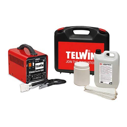 Telwin 850000 Cleantech 100 Schweißset, 230V, 50-60Hz, 1ph