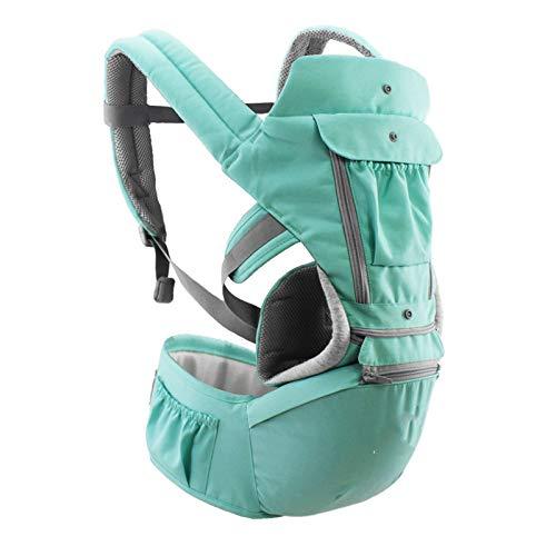 Bandoleras portabebé Portabebés ergonómico Infant Kid Baby Hipseat Sling Front Facing Kangaroo Baby Wrap Carrier para viajes de bebés 0-36 meses
