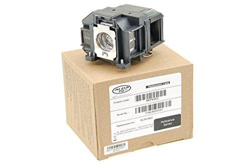 Alda PQ Riferimento lampada per EPSON EB-S01, EB-S02, EB-S11, EB-S12, EB-TW480, EB-W01, EB-W02, EB-W12, EB-W16, EB-W16SK, EB-X02, EB-X11, EB-X1H, EB-X12, EB-X14 Lampada per proiettore con Cassa.